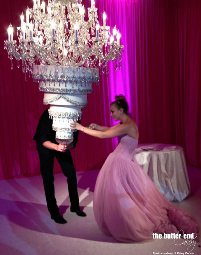 Kaley Cuoco esküvői tortája