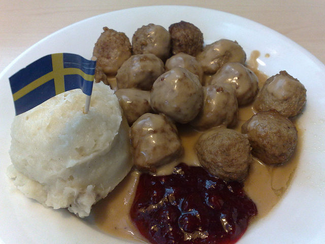 svéd húsgolyó